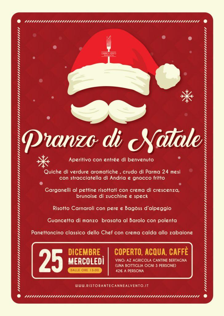 Menù Pranzo Natale 2019 Ristorante Canne Al Vento
